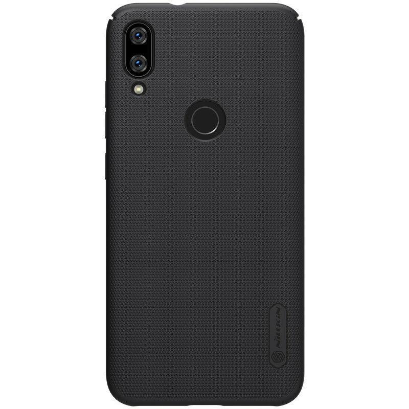 Nillkin Xiaomi Mi Play Super Frosted Shield Black Чехол Накладка Бампер