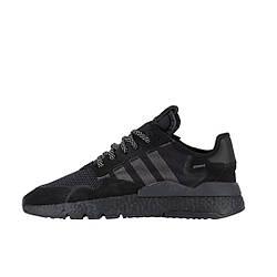 """Мужские кроссовки Adidas Nite Jogger """"Black"""" (люкс копия)"""