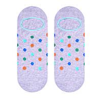 """Короткие серые мужские носки в горошек More 098 """"Polka dots"""""""