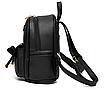 Рюкзак жіночий кожзам Agness Бежевий, фото 3