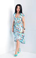 Платье летнее из коттона.Размеры: 44,48,50,52