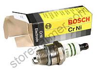 Свеча Bosch для 2-тактных двигателей: бензопилы, мотокосы