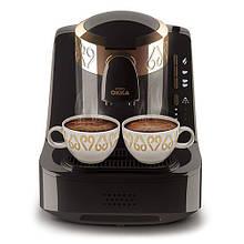 Кофемашина для турецкого кофе, кофе по-турецки Arzum Okka (черная, золото)