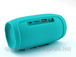 JBL Charge mini 4 копия, портативная колонка с Bluetooth FM MP3, зеленая мята, фото 2