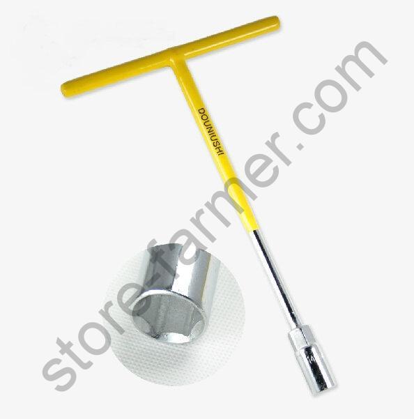 Ключ торцевой гаечный 10 мм. T-образный. Профи серия