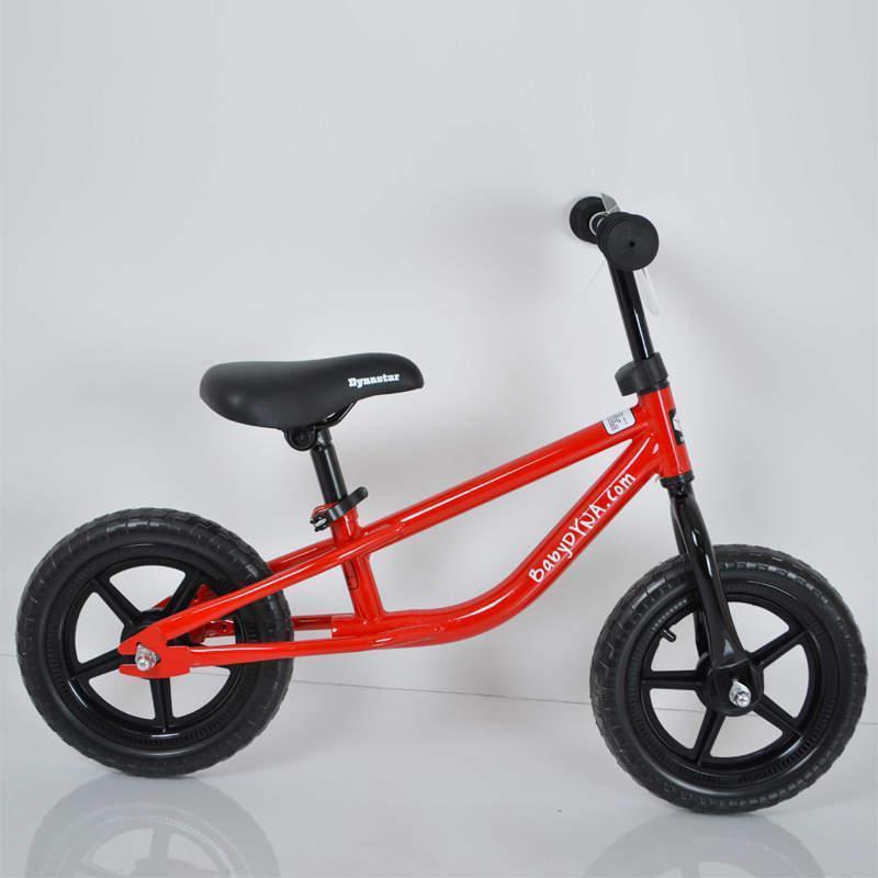 """Дитячий стильний беговел 12""""(BRN)B-2 Red Eva wheels"""