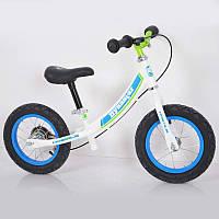 """Дитячий беговел з ручним гальмом 12""""B-5 (Boy) Air wheels"""