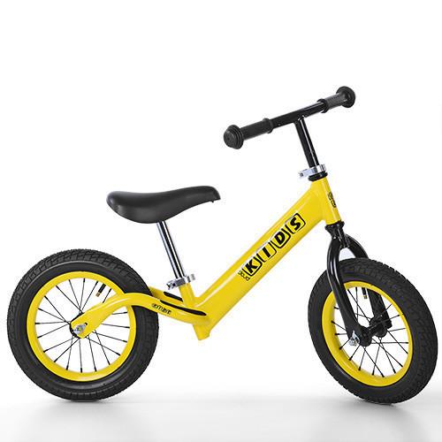 """Детский стильный беговел PROFI KIDS M 3844A-2 12"""" желтый"""