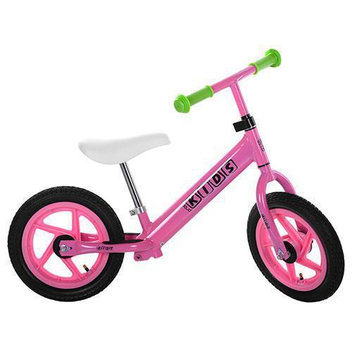 """Детский стильный беговел PROFI KIDS M 3440A-2 12"""" розовый"""