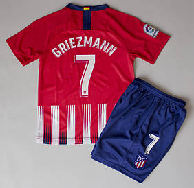 Форма футбольная Atletico Madrid основная Griezmann 2018-2019