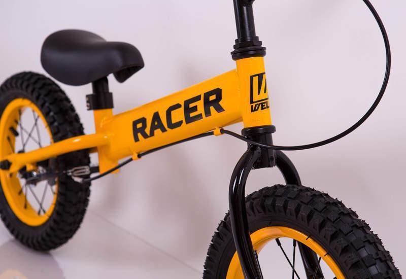 Детский беговел Racer BA14-04 с ручным тормозом