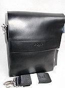 Мужская сумка планшетна барсетка поло Polo эко кожа 8825-3 черная