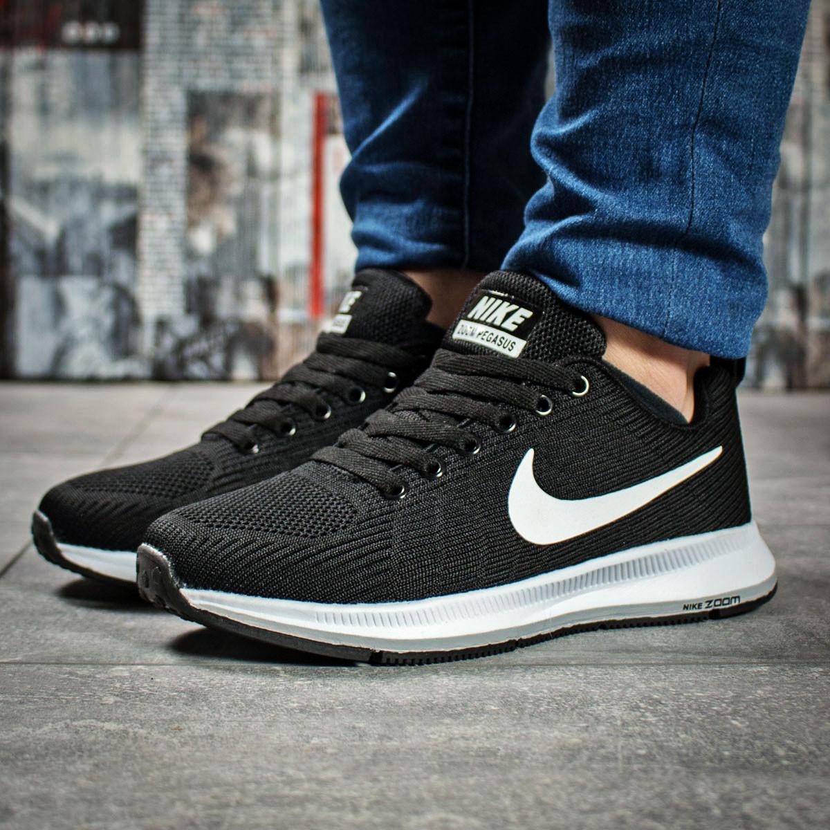 hot sale online 5be86 440ad Женские кроссовки в стиле Nike Zoom Pegasus, текстиль, пена, черные 37  (23,5 см)
