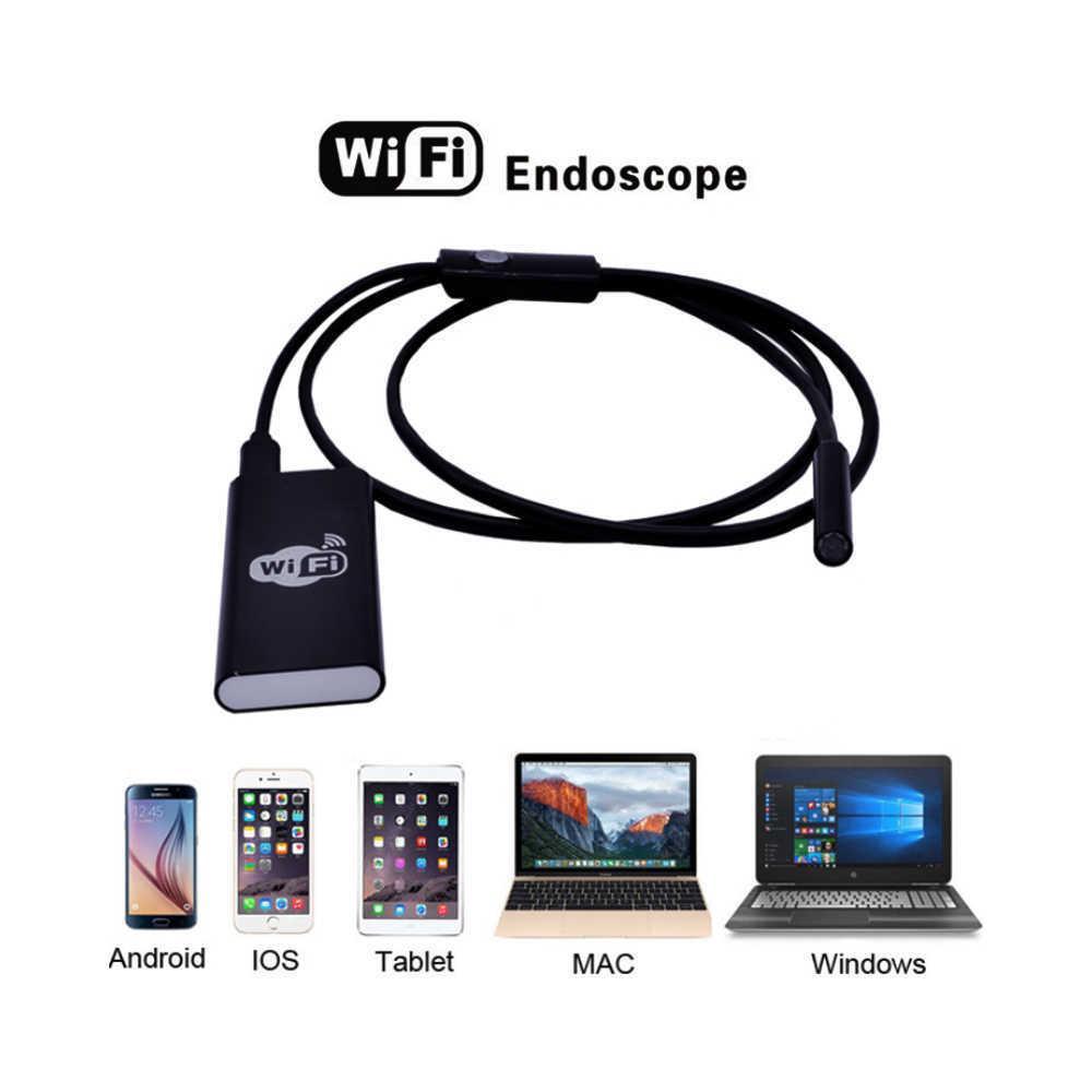 Wi-Fi Эндоскоп c HD камерой:720P  Ø8 мм 2 метра(гибкий)