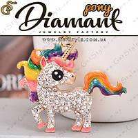 "Брелок Пони - ""Pony"" + подарочная упаковка"
