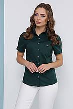 Блуза 1820 смарагдовий