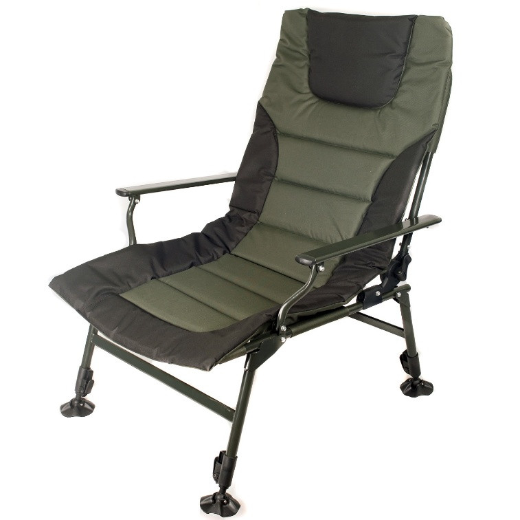Кресло карповое Ranger Wide Carp SL-105  зелено - черное
