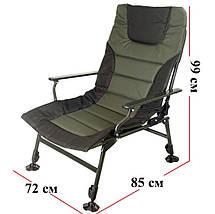 Кресло карповое Ranger Wide Carp SL-105  зелено - черное, фото 2