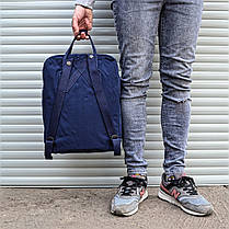 Рюкзак в стиле Fjallraven Kanken classic темно - синий, фото 3
