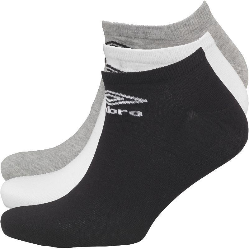Носки тонкие Umbro серые/белые/черные. Оригинал