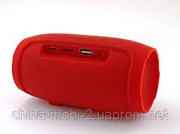 JBL Charge mini 4 копия, Bluetooth колонка с FM MP3, красная, фото 3