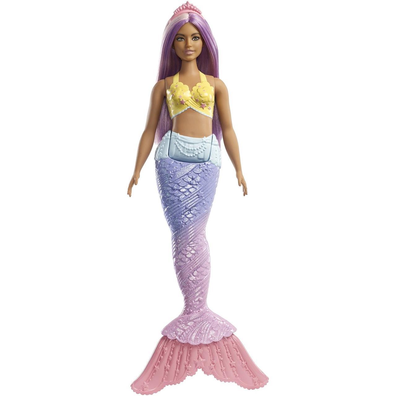 Кукла Barbie Dreamtopia Русалочка с сиреневыми волосами FXT09
