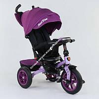 Велосипед 3-х колёсный 9500 - 2518 Best Trike ПОВОРОТНОЕ СИДЕНЬЕ, СКЛАДНОЙ РУЛЬ, РУССКОЕ ОЗВУЧИВАНИЕ, СВЕТ, НАДУВНЫЕ КОЛЕСА (ОПТОМ)