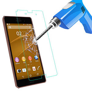 "SONY Z3 mini compact D5803 XPERIA Оригинальное защитное стекло 0.3mm 2.5D 9H для телефона ""MOFI"""