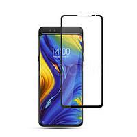 Защитное стекло Xiaomi Mi Mix 3 5D черный полная проклейка Full Glue Олеофорбное покрытие 2.5D 5 4 3 2.5 D , фото 1