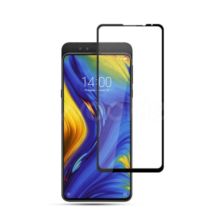 Защитное стекло Xiaomi Mi Mix 3 5D черный полная проклейка Full Glue Олеофорбное покрытие 2.5D 5 4 3 2.5 D
