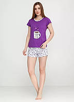 Пижама, домашний комплект ( футболка, шорты) Bahar