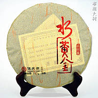 Шу пуэр черный И Цинь Юань Гу Шу 357 г 2015 год