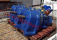 Мотор - редуктор 1МЦ2С125 - 140 об/мин с эл.двиг. 7 квт