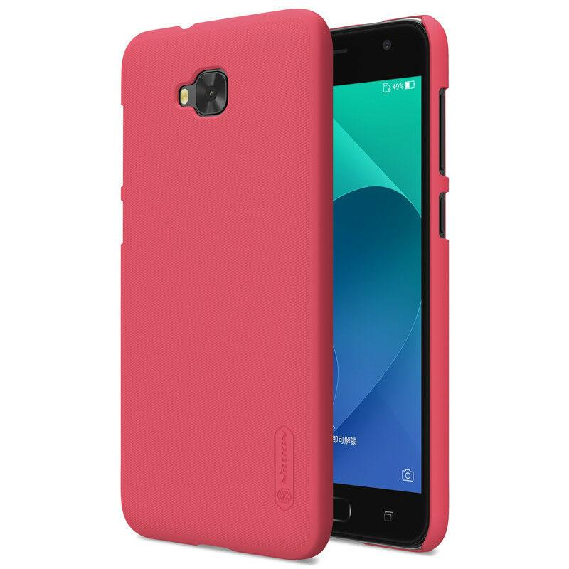 Nillkin Asus Zenfone 4 Selfie (ZB553KL,X00LDA,ZD553KL,X00LD) Super Frosted Shield Red Чехол Накладка Бампер