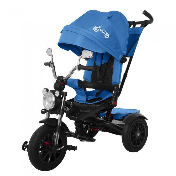 Велосипед трехколесный TILLY TORNADO T-383  Blue синий колеса резина