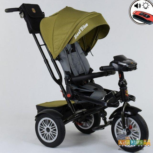 Велосипед трехколесный best trike 9288 с поворотным сиденьем