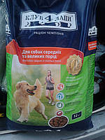 Клуб 4 лапы для собак средних и крупных пород 12кг