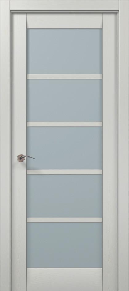 """Двери межкомнатные Папа Карло """"Millenium-15"""" ясень белый"""