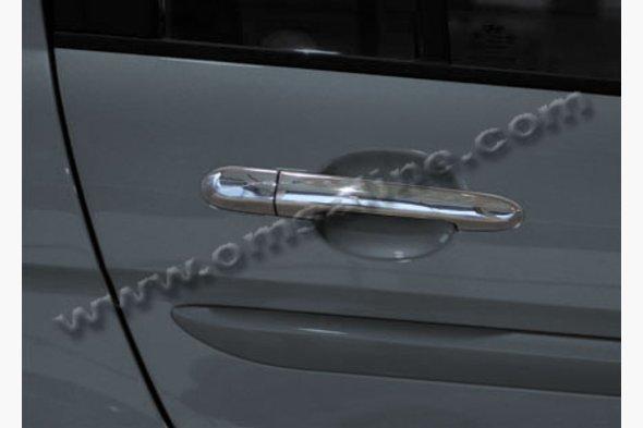 Накладки на ручки (4 шт) Hyundai Accent 2006-2010 гг.