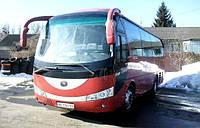 Автобус Yutong аренда с водителем
