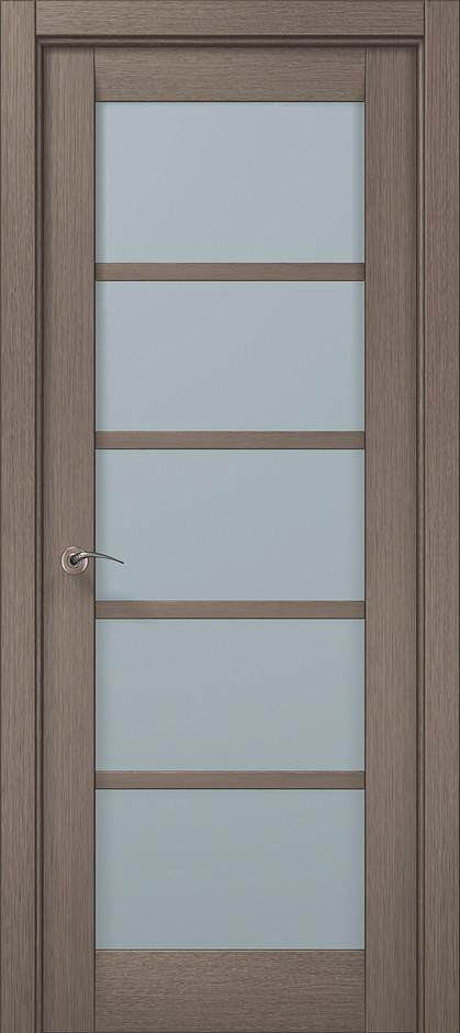 "Двери межкомнатные Папа Карло ""Millenium-15"" дуб серый браш"
