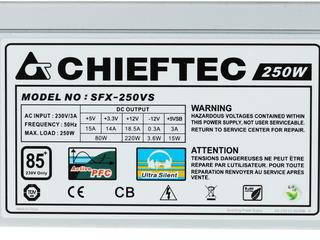 Блок питания Chieftec Smart SFX-250VS