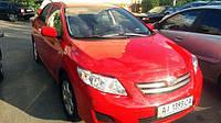 Toyota Corolla красная аренда авто