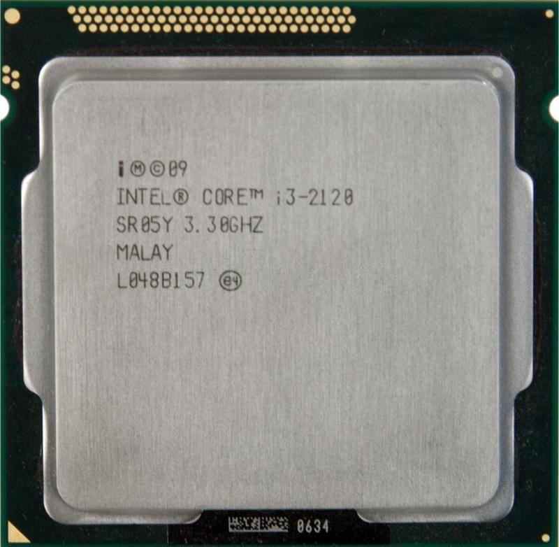 Процессор, Intel Core i3-2120 3 МБ, 3,30 ГГц