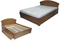 Кровать деревянная Фиона с ящиками Делфис