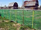 Садовая сетка 1,5 м х 100 м (ячейка 30мм*35мм), фото 3