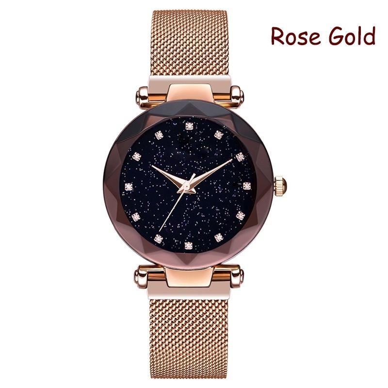 Роскошные Женские часы Starry Sky Watch на магнитной застёжке