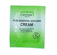 SFERANGS ALOE ESSENTIAL SOOTHING CREAM Успокаивающий крем с алоэ для чувствительной кожи лица, пробник