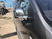 Peugeot Expert 2017↗ гг. Накладки на зеркала (2 шт., пласт.) Carmos