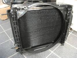 Радіатор охолодження двигуна ЮМЗ на Д 65 4-х рядний